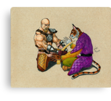 Khajiit has Wares Canvas Print
