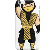 Scorpion (MK1) iPhone Case/Skin