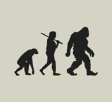 Evolution of Bigfoot by Paducah