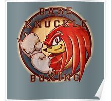 Bare Knuckle Boxing Poster