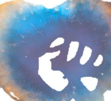 Rise Against Alternate Heart Fist Sticker