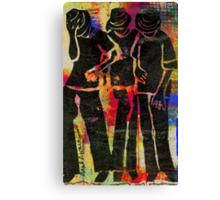 Young Men Canvas Print
