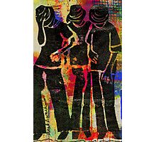 Young Men Photographic Print