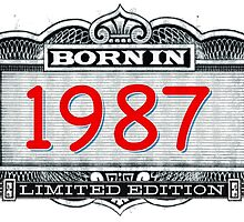 Born In 1987 - Limited Edition by Cleave