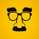 Groucho mask - nerd glasses by badbugs
