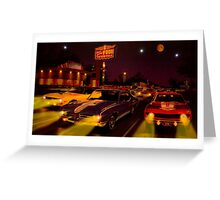 The Big 3 Street Racing Greeting Card
