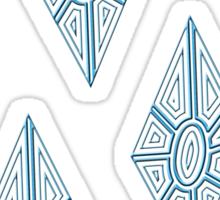 Ornate Rarity Cutie Mark Sticker