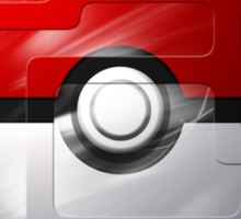 Brushed Pokeball - Kanto Map Sticker