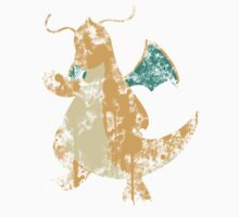 Dragonite Splatter Kids Clothes