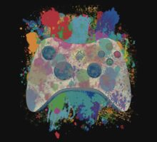 Painted Xbox 360 Controller Kids Clothes