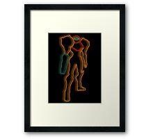 Minimalist Samus Framed Print