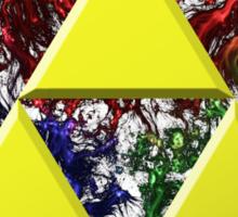 Smoky Triforce Sticker