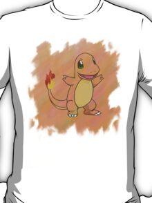Watercolour Charmander T-Shirt