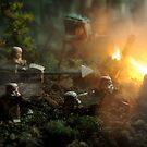 Star Wars Empire AT War jungle city by Shobrick
