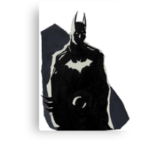 The Dark Knight  Canvas Print