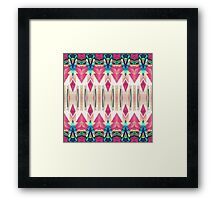 Pointed Mirror Abstract Framed Print