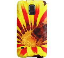 Bumble Bee in a Flower Samsung Galaxy Case/Skin
