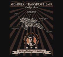 Transport ship poster by SxedioStudio