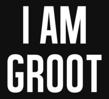 I AM GROOT by kenzihale