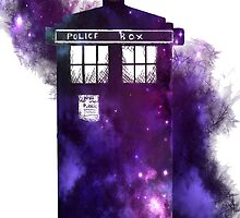 Tardis in space by Kyo-katt