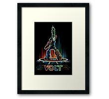 VOLT (TRON) Framed Print