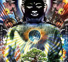 Black Buddha poster 2014 Hearthian by Hearthian