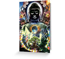 Black Buddha poster 2014 Hearthian Greeting Card