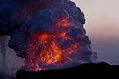 Kilauea Volcano at Kalapana 6 by Alex Preiss