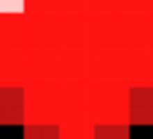 Minecraft Heart Sticker