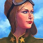 The Aviatrix by Roz McQuillan