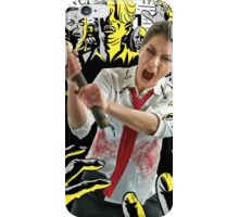 Tatiana Maslany in Shaun of the Dead (SDCC 2014) iPhone Case/Skin