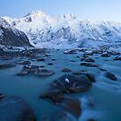 Mount Sefton & The Footstool Winter Dawn by Nick Skinner