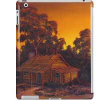 The Australian Pioneers Log Cabin iPad Case/Skin