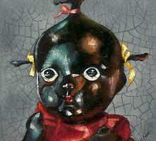 I'm Fine #5, (Antique Traditional Pikinini Doll) by Blue Reid
