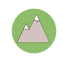 Green Mountain by bunhuggerdesign