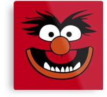 Animal Muppet (Orange Lips&Nose) Metal Print