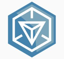 Ingress Game Logo - Blue (Resistance) by tseven