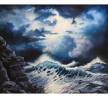 Sea Storm Photographic Print