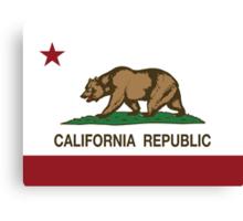 California Republic Flag Canvas Print