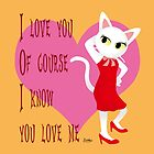 I know you love me by BATKEI
