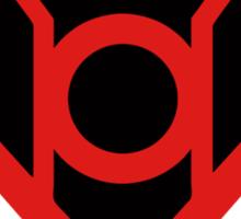 Red Lantern Super Sticker