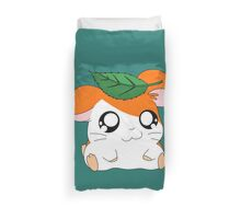 Hamtaro with Leaf Duvet Cover