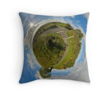 Country Roads - Killea Crossroads, Derry, N. Ireland Throw Pillow