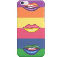 Double Color Lips iPhone Case/Skin