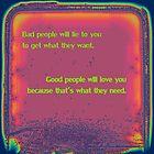 Bad & Good People by TaffyTrotski