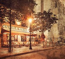 Notre Dame Cafe by Janine Whitling