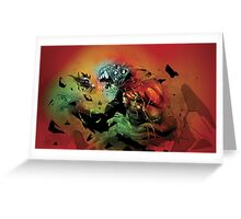 Heavy Angel - Battle at the Gate of Hell Greeting Card