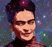 Cosmic Frida by Douglas Simonson