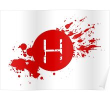 Comic Con Hall H Blood Splatter Poster