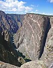 Painted Wall, Black Canyon of the Gunnison, Colorado by Margaret  Hyde